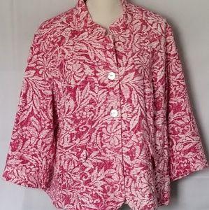 Coldwater Creek 3/4 sleeve jacket Size W18